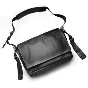 Brooks Barbican Shoulder Bag Canvas total black